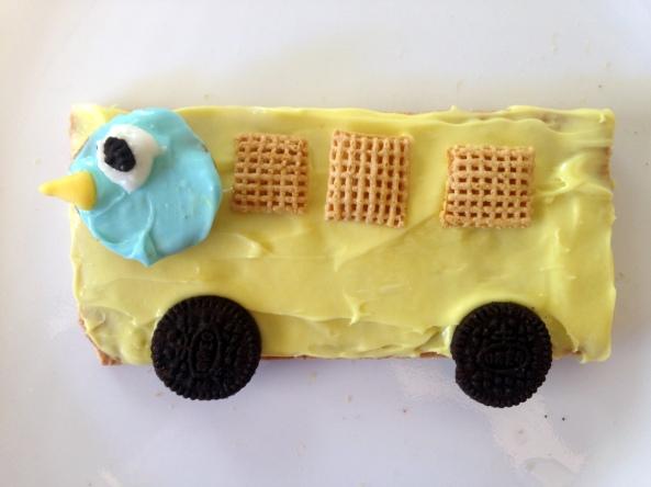 Pigeon Graham Cracker Bus